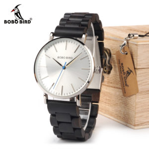 Relogio Masculino Wooden Quartz Watch For Men