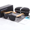 Polarized Bamboo Wood Branded Sunglasses