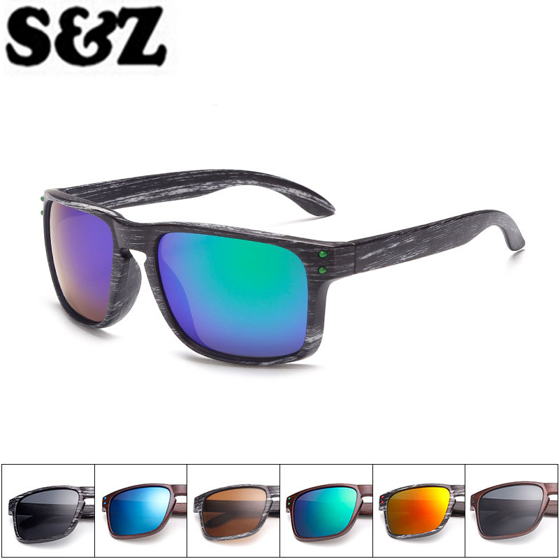 f9e3c6e50cf Reflective Outdoor Eyewear with Colorful Mirror Coating - Woodies Land