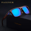 Bamboo Polarized Wood Designer Sporty Sunglasses